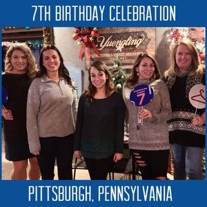 We celebrated in Pittsburgh!